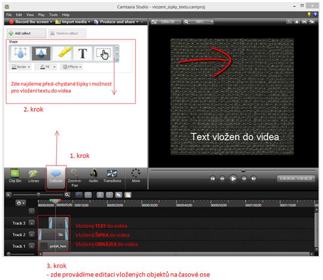 camtasia_studio_vlozeni_textu_a_sipky_do videa