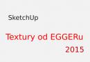 Textury pro SketchUp – kolekce EGGER