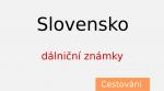 Nákup dálniční známky pro Slovenskou republiku – eZnamka.sk