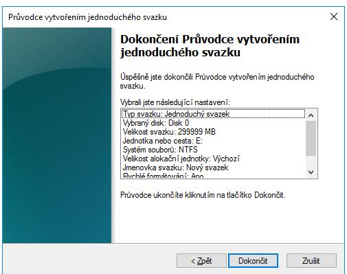 vytvoreni_oddilu_windows10_8