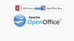 Otevření databáze vytvořené v MS Access pomocí OpenOffice Base (mdb => odb)