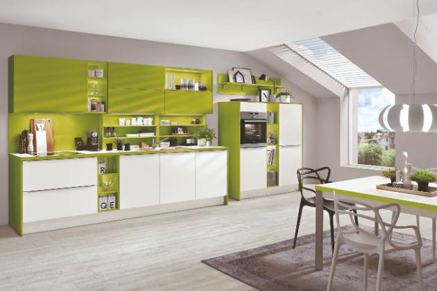 Kuchyň ve znamení přírodních barev