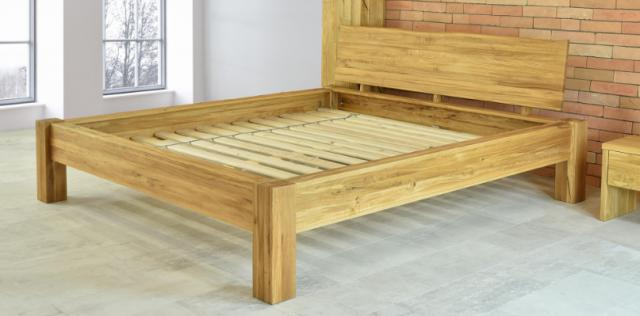 Jak vybrat postel z masivu - spárovka průběžná nebo cink