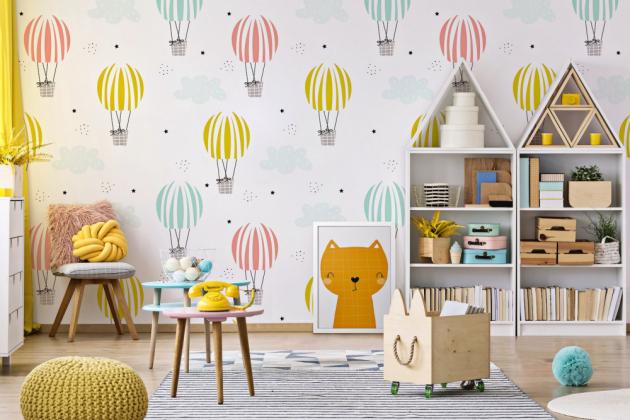 Úložné prostory ve stylu domečku (Lagom)