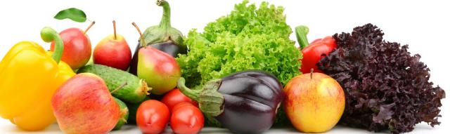 Ovoce a zelenina je důležitá pro zdraví jídelníček
