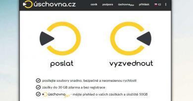 Posíláme velké soubory emailem – uschovna.cz