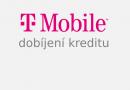 Dobíjení kreditu přes internet [operátor T-Mobile] – platba kartou