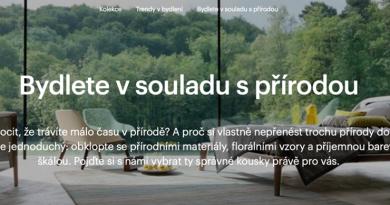 Nákup nábytku a dekorací přes e-shopy (Lenka Stádníková)
