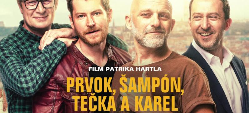 Film Prvok, Šampón, Tečka a Karel (CZ, komedie) 2021 – online