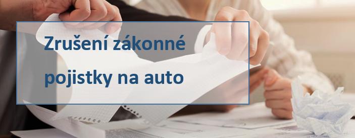 Zrušení zákonné pojistky u Direct pojišťovny.