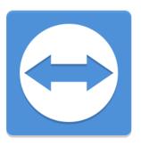 Logo programu Team Viewer pro vzdálené ovládání počítačů a vytvoření online schůzky