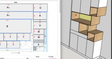 Tvorba kusovníku, nářezového plánu, kalkulace materiálu a tisk štítků – jednoduše ve SketchUpu